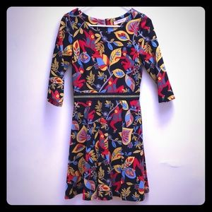 Right on the Monkey A Line Dress